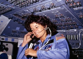 26 de Maio - 1951 – Sally Ride, astronauta estadunidense.