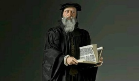 27 de Maio - 1564 — João Calvino, teólogo cristão francês (n. 1509).