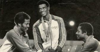 28 de Maio - 1954 — João do Pulo, atleta, especializado em saltos, ex-recordista mundial do salto triplo, medalhista olímpico e político brasileiro.