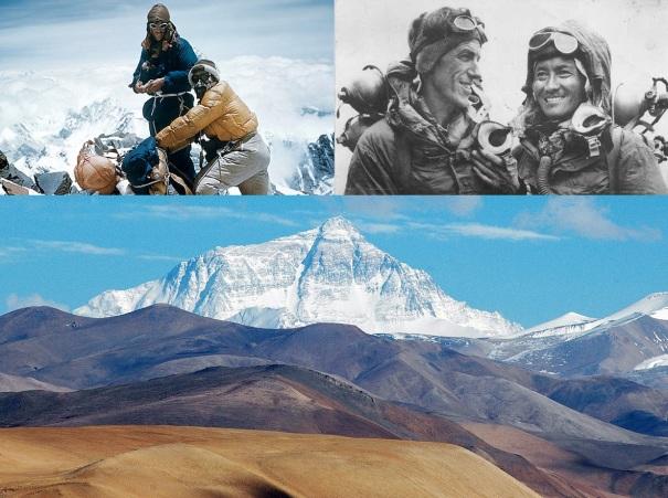 29 de Maio - 1953 — O Sherpa Tenzing Norgay e Sir Edmund Hillary são os primeiros a atingir o cume do Monte Everest.