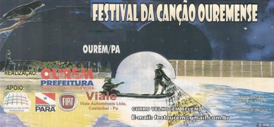 29 de Maio - Festival da Canção Ouremense - Ourém (PA) - 255 Anos