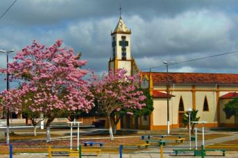 29 de Maio - Lateral da Igreja Matriz de N. Sra. da Conceição - Ourém (PA) - 255 Anos