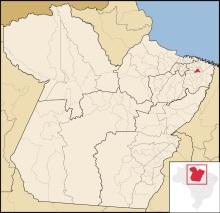 29 de Maio - Localização de Ourém no Pará.