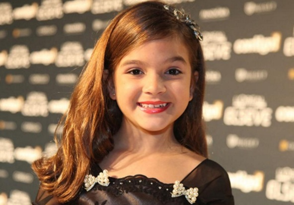 3 de Maio - 2004 — Mel Maia, atriz brasileira.