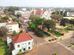 3 de Maio - Tomada aérea da cidade de Três de Maio - RS.