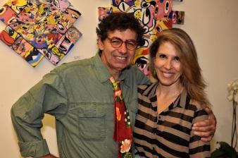 30 de Maio - Daniel e Beth Azulay, em casa.