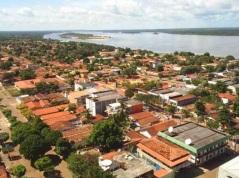 30 de Maio - O Rio Araguaia e a vista aérea da cidade - Conceição do Araguaia (PA) - 120 Anos