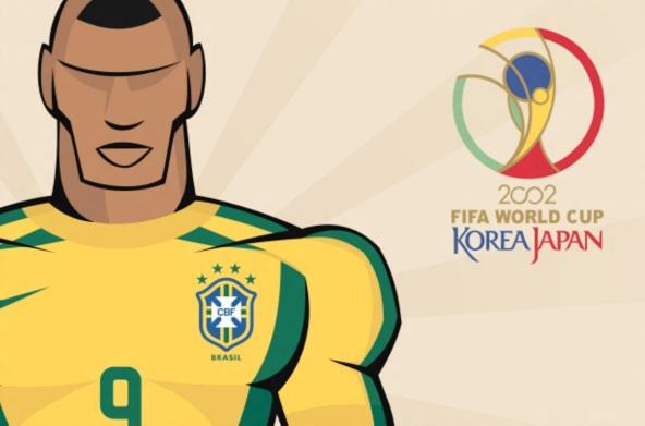 31 de Maio - 2002 — Tem início a XVII edição da Copa do Mundo de Futebol 2002.