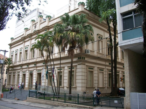 31 de Maio - Palácio Barbosa Lima, sede da Câmara Municipal, em 2011 - Juiz de Fora (MG) - 167 Anos.