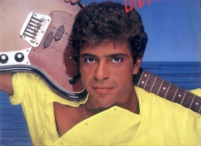 4 de Maio - 1953 - Lulu Santos - compositor e músico brasileiro, jovem.