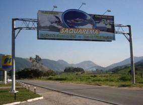 8 de Maio - Saquarema (RJ) — Entrada da Cidade.