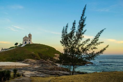 8 de Maio - Saquarema (RJ) — Igreja Nossa Senhora de Nazareth.