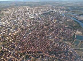 9 de Maio - Aérea da cidade — Teixeira de Freitas (BA).