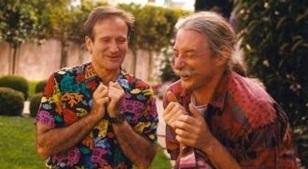 Hunter Doherty Patch Adams com Robin Williams