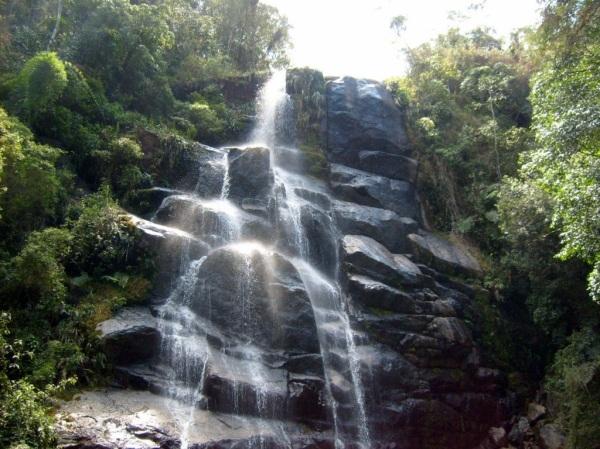 1 de Junho - Cachoeira Véu de Noiva - Waterfall - Parque Nacional de Itatiaia - RJ.