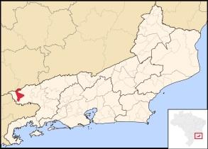 1 de Junho - Localização de Itatiaia no Rio de Janeiro.