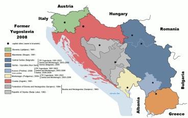 10 de Junho - 1999 — A OTAN anuncia o fim dos bombardeios aéreos contra a Jugoslávia, após 79 dias de ataques.