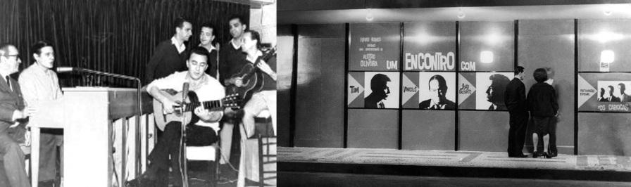 10 de Junho - Em 1962, João Gilberto faz o histórico show O Encontro no restaurante Au Bon Gourmet, localizado em Copacabana, ao lado de Tom Jobim, Vinicius de Moraes, Os Cariocas, Mil