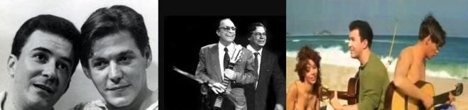 10 de Junho - João Gilberto e Tom Jobim.