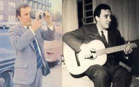 10 de Junho - João Gilberto também teve sua carreira cinematográfica, ainda que amadora. Durante anos, andou com filmadoras a tiracolo. EmNa foto, está em Nova York, no final dos ano