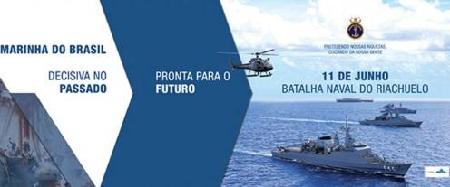 11 de Junho - 1822 - É fundada a Marinha do Brasil.