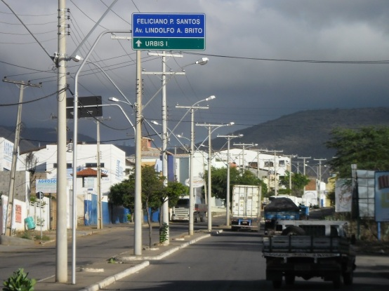 11 de Junho - Avenida Lindolfo Brito, Bairro Feliciano Pereira Santos - Brumado (BA) - 140 Anos.