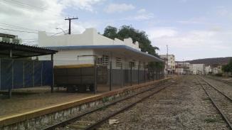 11 de Junho - Estação de trem da RFFSA, no Centro - Brumado (BA) - 140 Anos.