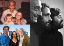 11 de Junho - Fotomontagem com Jacques Cousteau, filho e netos.