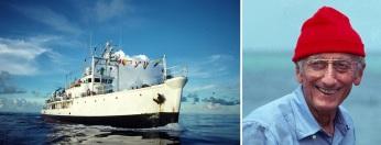 11 de Junho - Jacques Cousteau, explorador e inventor francês - Calypso, navio de pesquisas hidrográficas.