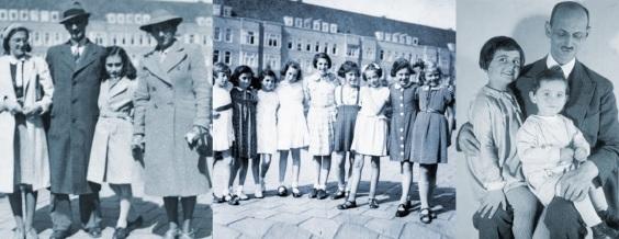 12 de Junho - 1929 – Anne Frank, escritora alemã e vítima judia dos nazistas - Com a família e com amigas.