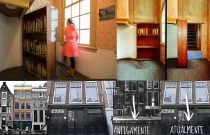 12 de Junho - 1929 – Anne Frank, escritora alemã e vítima judia dos nazistas - O anexo e a passagem secreta.