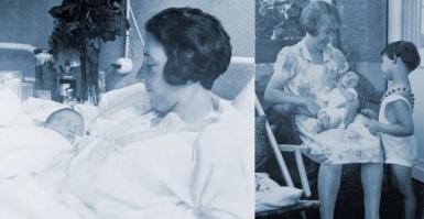 12 de Junho - 1929 – Anne Frank, escritora alemã e vítima judia dos nazistas - Quando ainda era bebê, no nascimento e em casa.