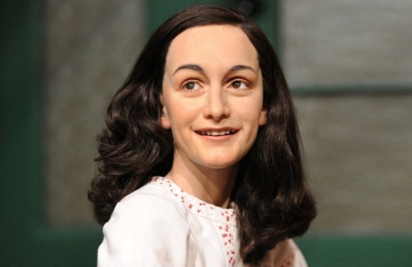 12 de Junho - Anne Frank no Museu Madame Tussauds.