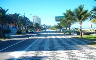 12 de Junho - Avenida e calçadão de Matinhos - A (Cidade) Namorada do Paraná - Matinhos (PR) - 50 Anos.