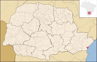 12 de Junho - Localização - A (Cidade) Namorada do Paraná - Matinhos (PR) - 50 Anos.