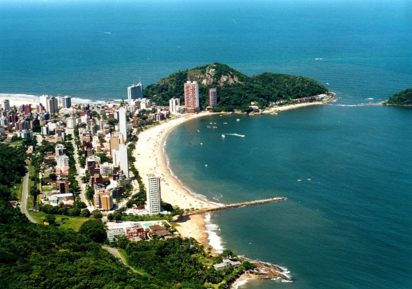 12 de Junho - Tomada aérea de Matinhos - A (Cidade) Namorada do Paraná - 50 Anos.