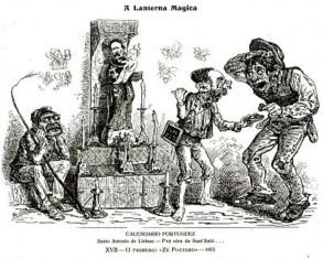 12 de Junho - Ze povinho lanterna magica 1875