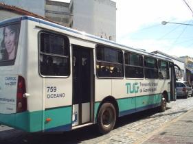 13 de Junho - Ônibus da Transportes Urbanos - Guaratinguetá (SP) - 387 Anos.