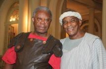 13 de Junho - Milton Gonçalves e Antonio Pitanga.