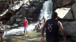 14 de Junho - Banho na cachoeira de Xiringa - Santana do Mundaú (AL) - 57 Anos.