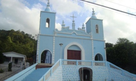 14 de Junho - Igreja Matriz na Praça Santa Ana - Santana do Mundaú (AL) - 57 Anos.