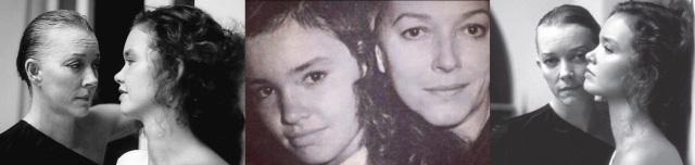 15 de Junho - Fotomontagem de Lílian Lemmertz com sua filha Júlia Lemmertz.