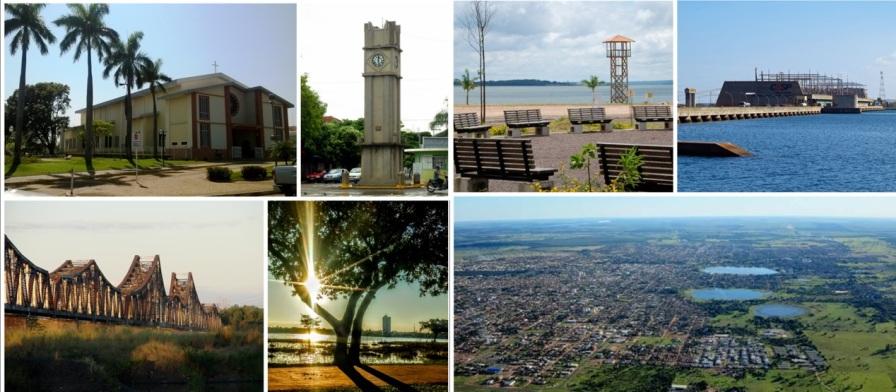 15 de Junho - Fotomontagem — Três Lagoas (MS) — 102 Anos.