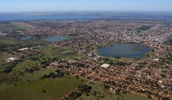 15 de Junho - Tomada aérea — Três Lagoas (MS) — 102 Anos.