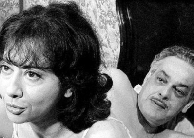 16 de Junho - Fernanda Montenegro e Paulo Gracindo em 'A Falecida'.