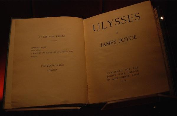 16 de Junho - Ulisses, na revista Egoist Press, onde foi publicado parcialmente em folhetins em 1922.