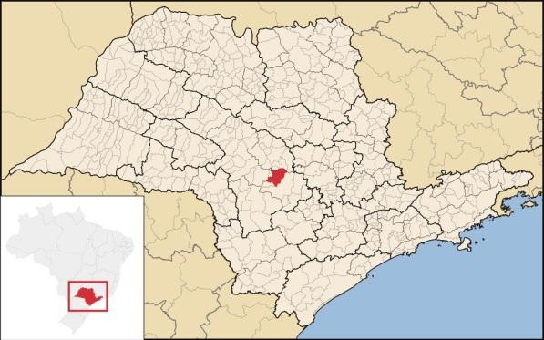 17 de Junho - Localização — São Manuel (SP) — 147 Anos.