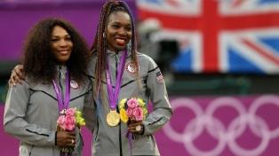 17 de Junho - Serena e Venus Williams nas Olimpíadas.