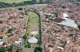 17 de Junho - Tomada aérea da cidade — São Manuel (SP) — 147 Anos.