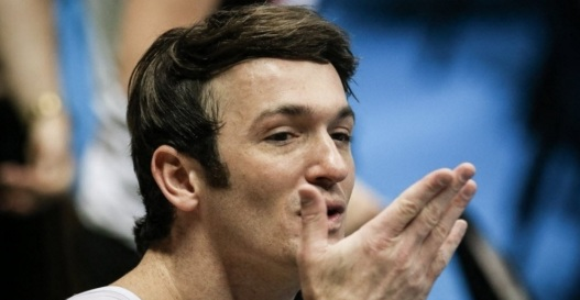 19 de Junho - 1986 – Diego Hypólito, ginasta brasileiro, em programa de entrevistas.